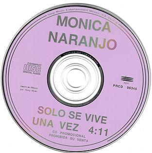 1994SoloseviveunavezMexicoPromoCDinterio
