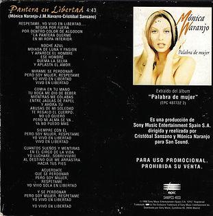 1998PanteraenlibertadPromoCDcontraportad