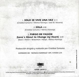 1994SoloseviveunavezSolaFuegodepasionPro