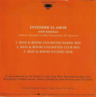 1997EntenderelamorNewRemixesPromoCDcontr