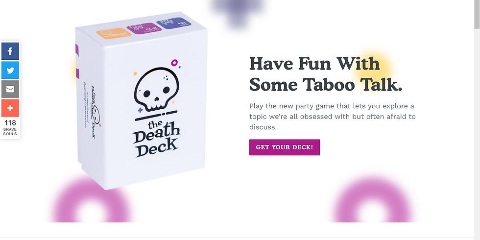 Virtual Coffee & Conversation:  The Death Deck