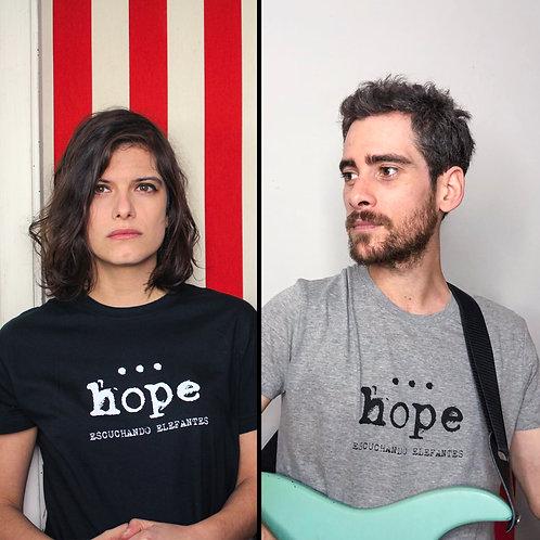 Hope Camiseta (Gris)