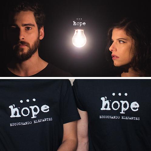 Hope + Camiseta (gris)