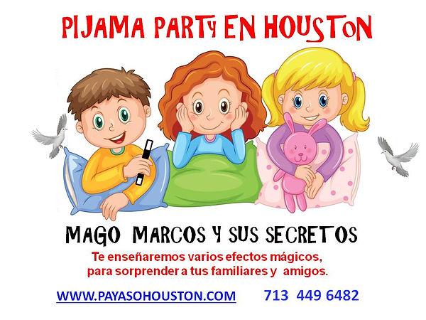 Payaso Houston Mago Marcos 4037 pijama p