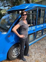 St. Augustine tour guide Elaine with Explore Tours