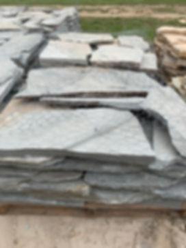 Grey Veneer Stone on Pallet