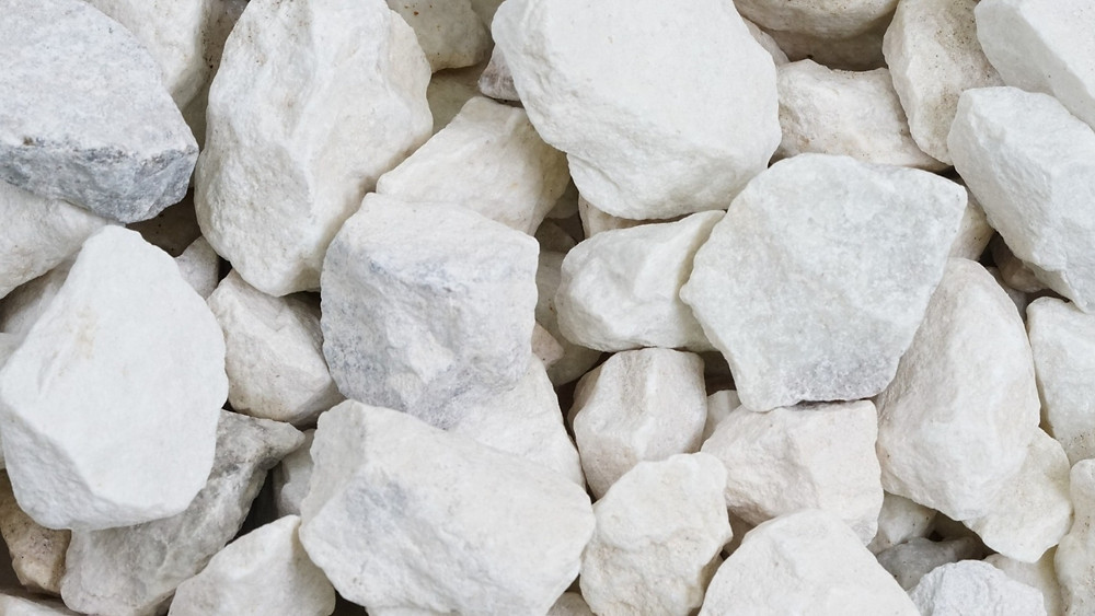 white stone for landscapes