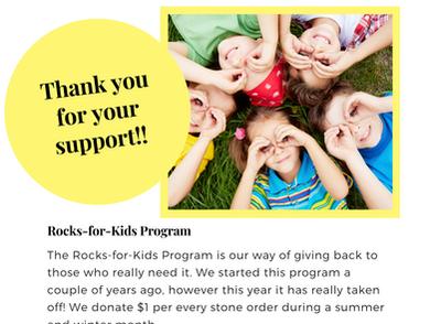 Rocks-for-Kids Program
