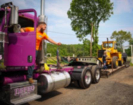 hauling machinery