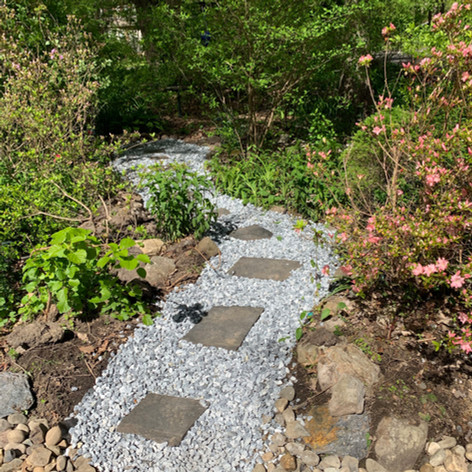 Decorative Stone Walkway