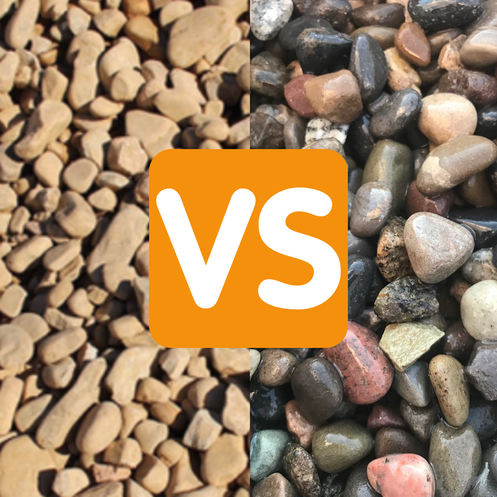 Tennessee River Rock vs. New England River Rock