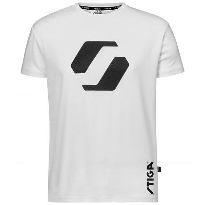STIGA base shirt wit