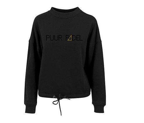 PUURPADEL damessweater