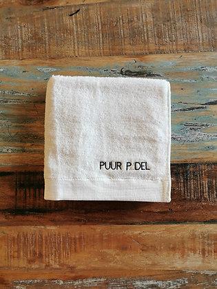 PUURPADEL handdoek (klein)
