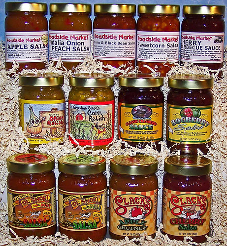 Pint Salsa, Relish, or Sauce