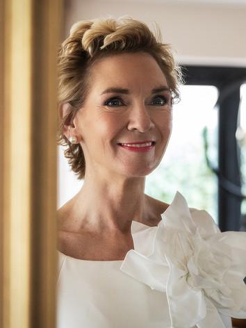 Trouwfoto bruid in Eethen