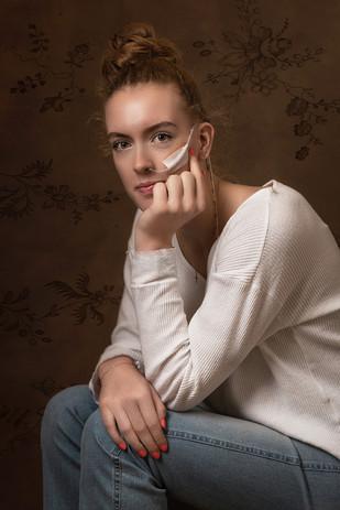 Portretfotografie in fotostudio in Arkel