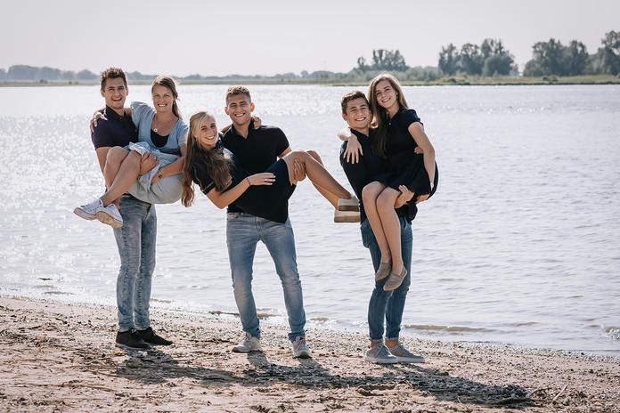 Familiefotografie bij Merwede in Gorinchem