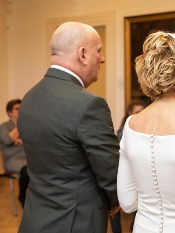 Huwelijksceremonie in Gorinchem