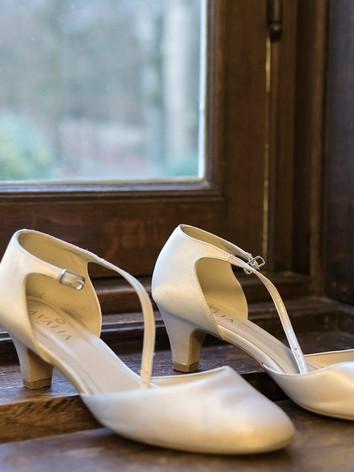 Foto bruidschoenen Arkel