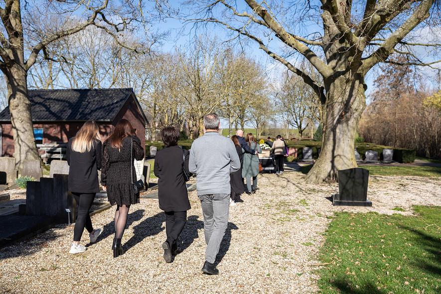 Begrafenisfotografie in Sleeuwijk
