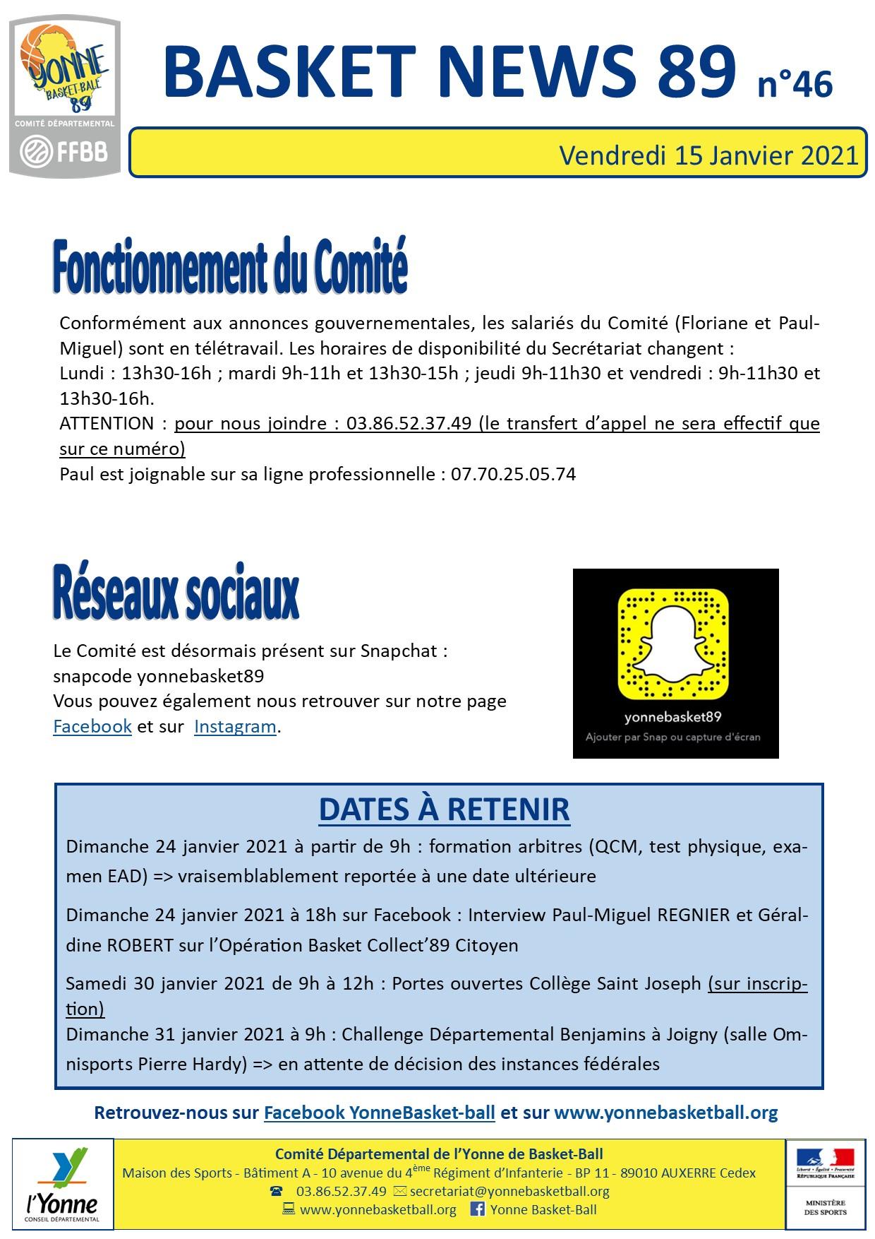 Newsletter n°46 janv 2021 3
