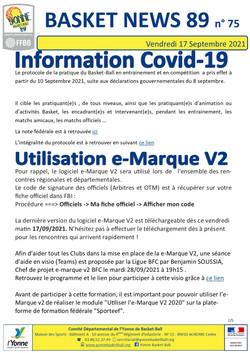 Newsletter n°75 Septembre 2021 2-5