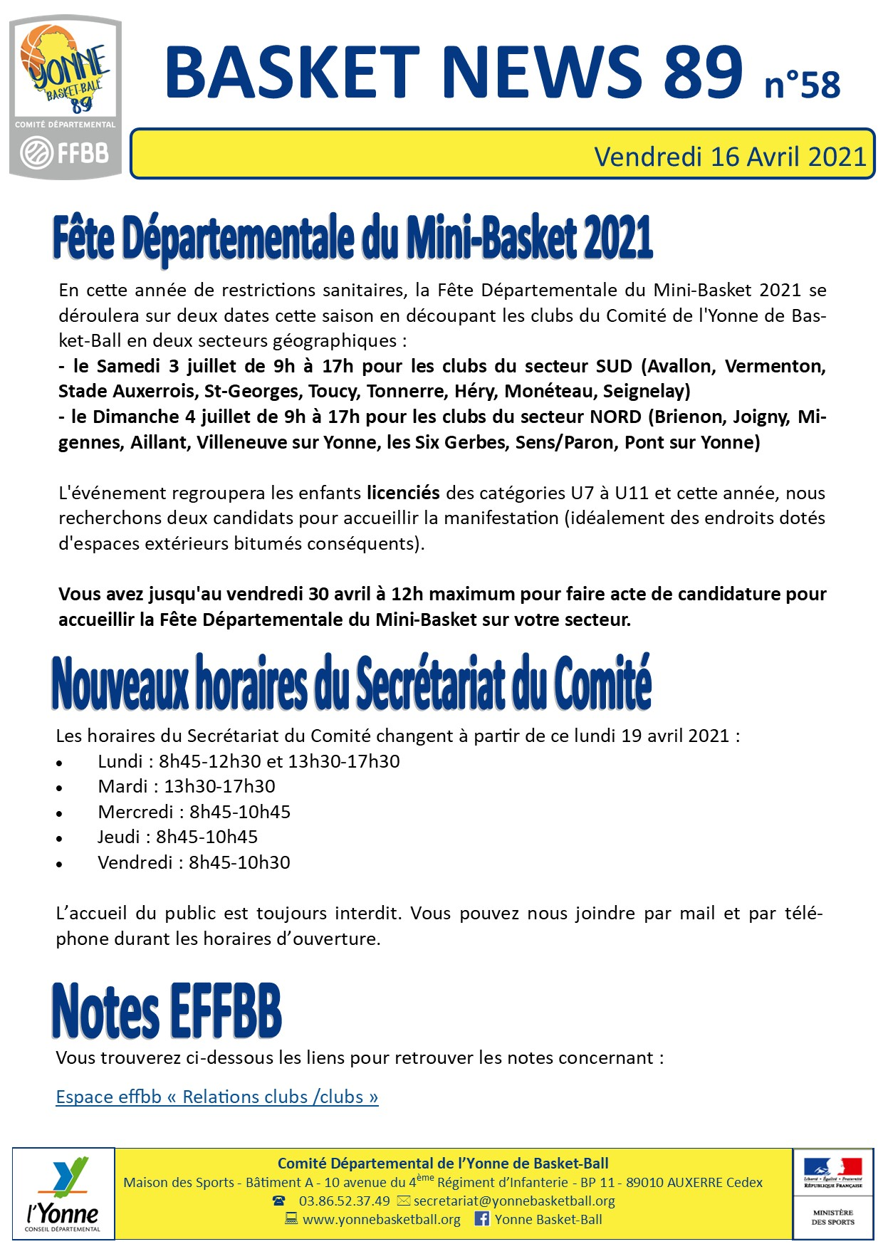 Newsletter n°58 avril 2021 4