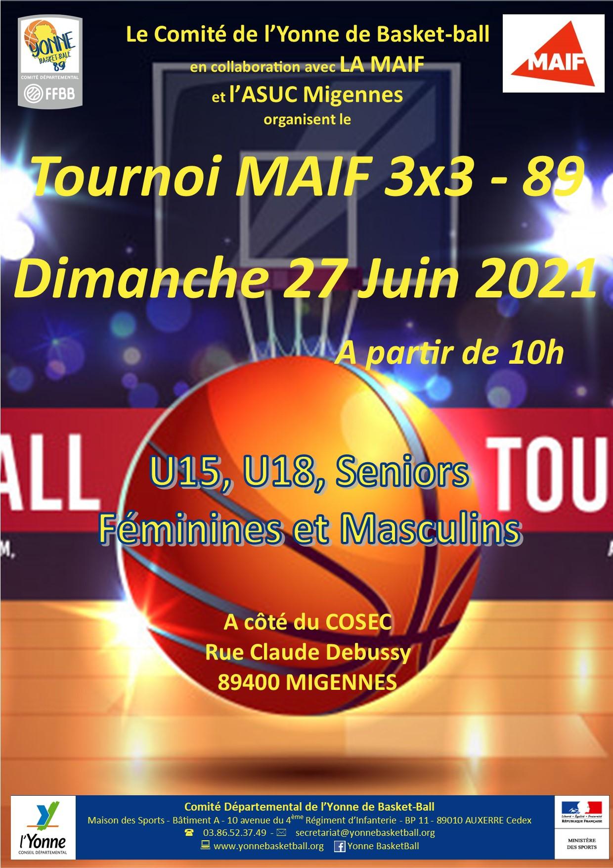 2020-2021 Affiche tournoi 3x3