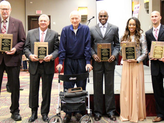 7th Annual Texas Track & Field Hall of Fame Class Inducted (January 8, 2016)