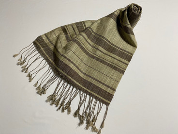 紬織スカーフ