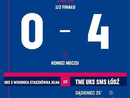 Odpadamy w półfinale Pucharu Polski Kobiet