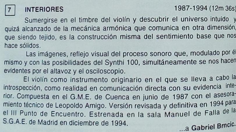 Interiores de Julio Sanz Vázquez