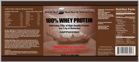 BioGenics Protein label Capuccino.png