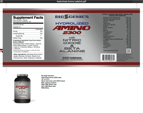 Biogenics Amino 2300 label .png