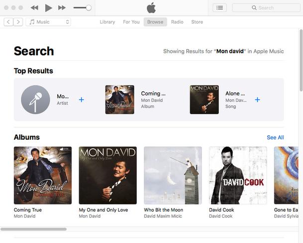 Mon David iTunes.png