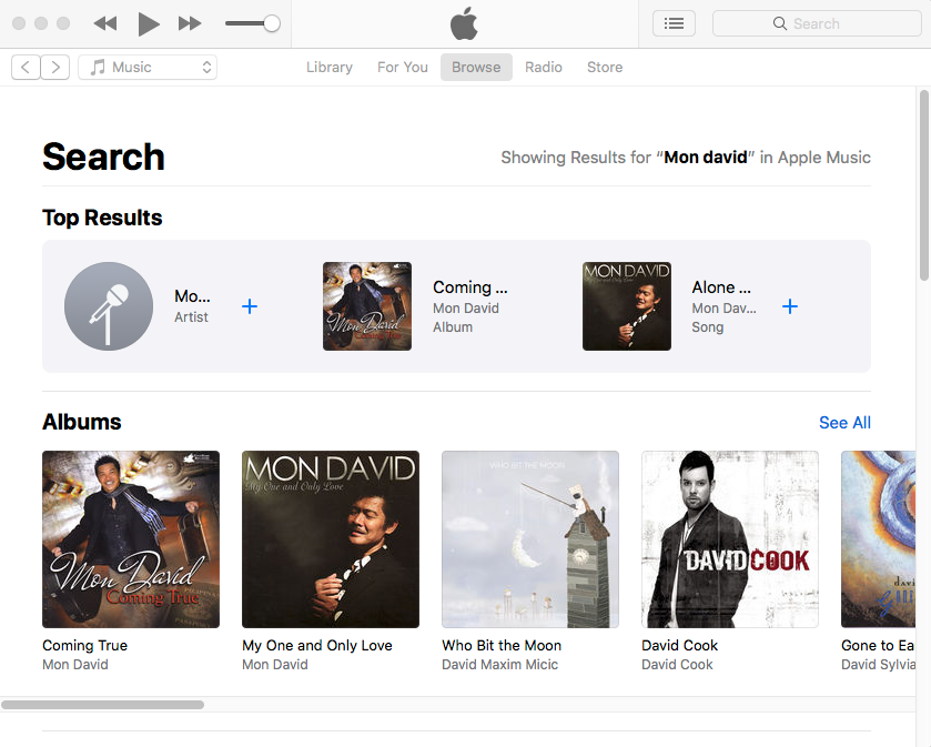 Mon David iTunes.png