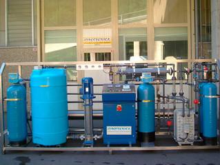 Água desmineralizada: como escolher o sistema de desmineralização ideal?
