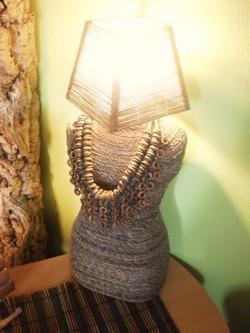 Buste à bijoux - Restauration