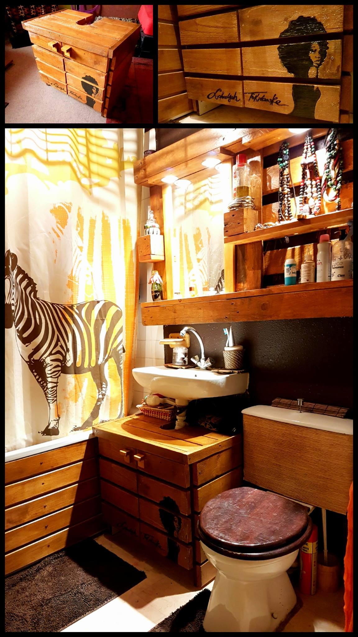 Relooking de meuble et baignoire