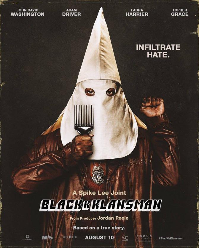 """BlacK k Klansman - L'effet """"cul-entre-deux-chaises"""" du Brother Spike."""