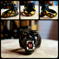 Bague Black Panther