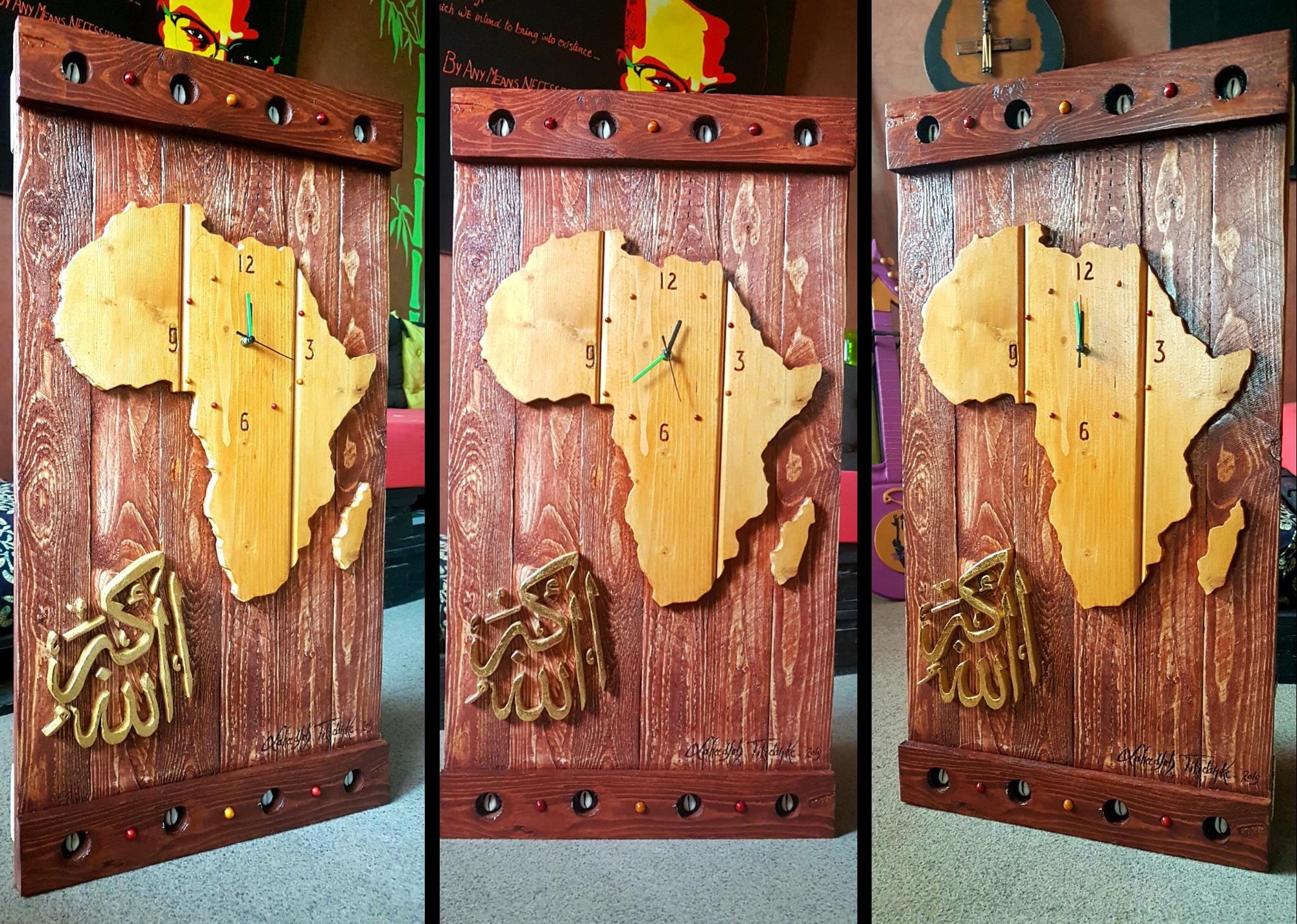 African Clock