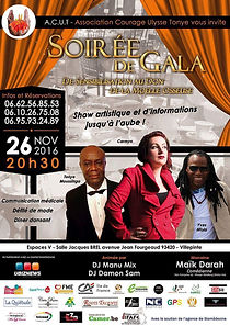 Soirée de gala ACUT - Association Courage Ulysse Tonye 2016