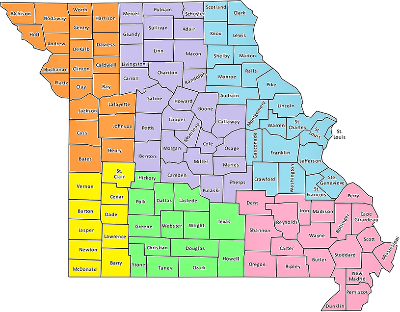 MDHA Component county map.png