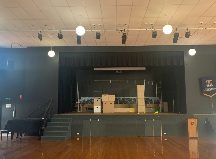 Kilvington Main Hall Stage