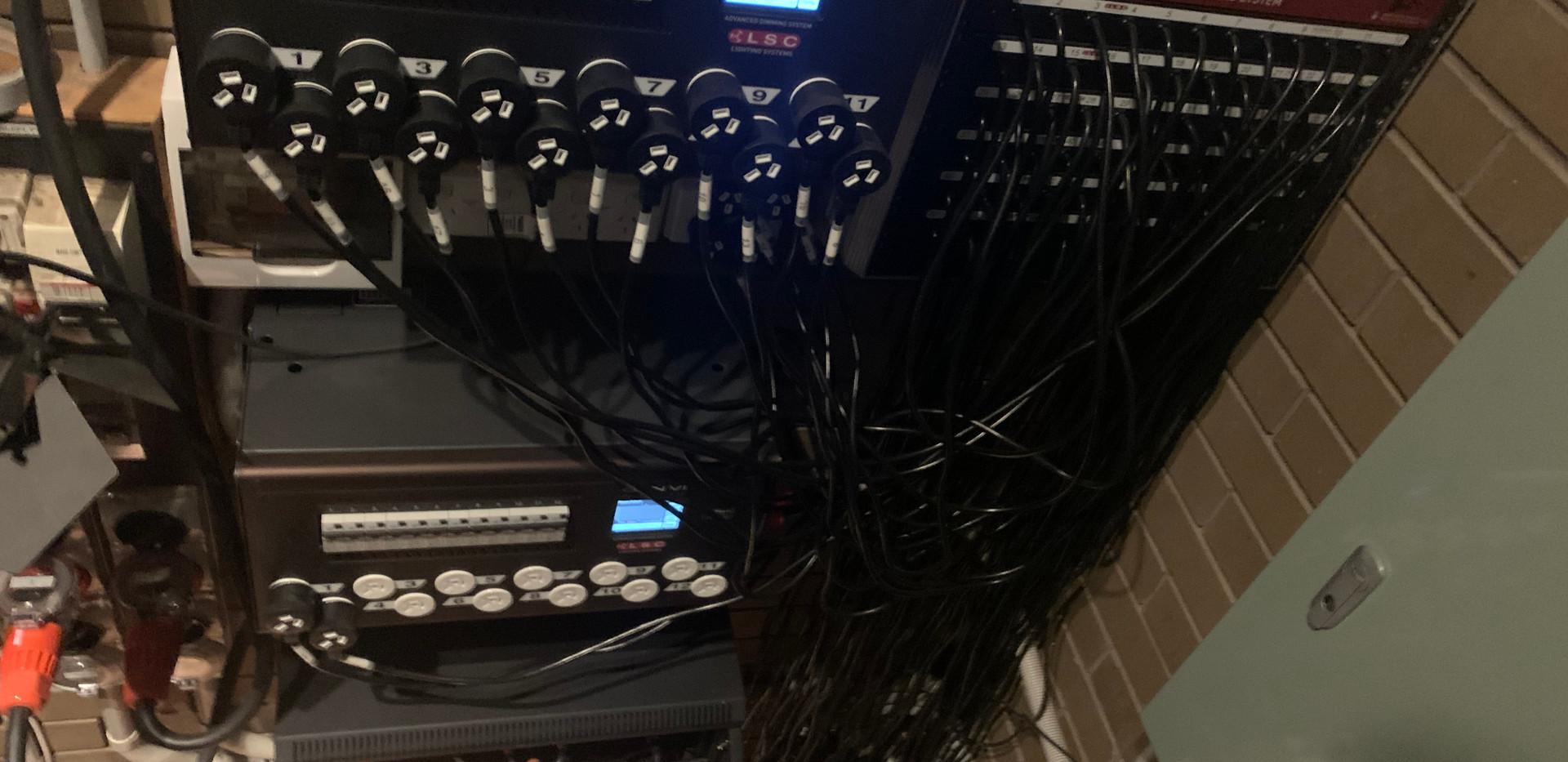 KVG (Dimmer Control Room)