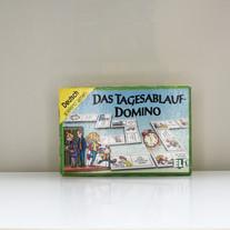 Tagesablauf-Domino
