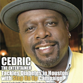 Cedric The Entertainer Tackles Diabetes in Houston With Step On Up Campaign