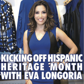 Eva Longoria Debuts Her Fashion Line at The Limited – Houston Galleria
